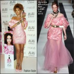 Rihanna In Vivienne Westwood Red Label At RiRi By Rihanna Fragrance Unveiling