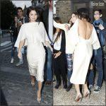 Selena Gomez In Sybilla – Out In Paris