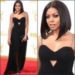Taraji P. Henson In Alexander Wang  At the  2015 Emmy Awards