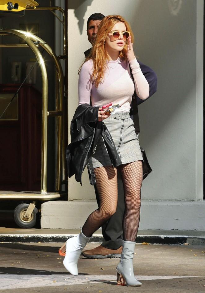 Bella-Thorne-Leggy-in-Short-Skirt--07-662x946