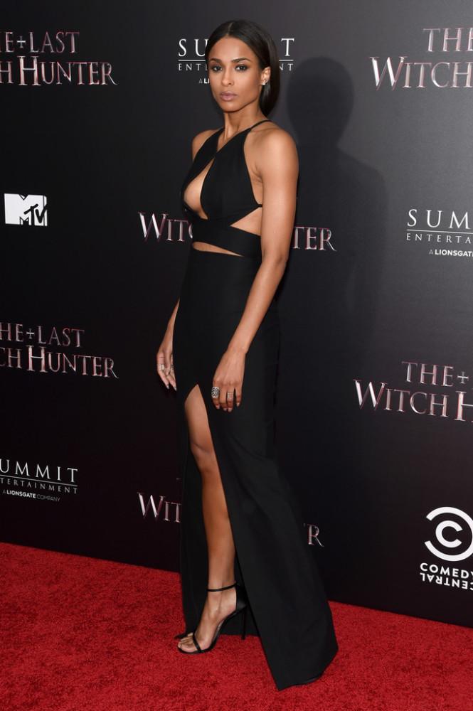 Ciara-The-Last-Witch-Hunter-New-York-Premiere-Solace-London-Black-Cut-Out-Ferrara-Dress-