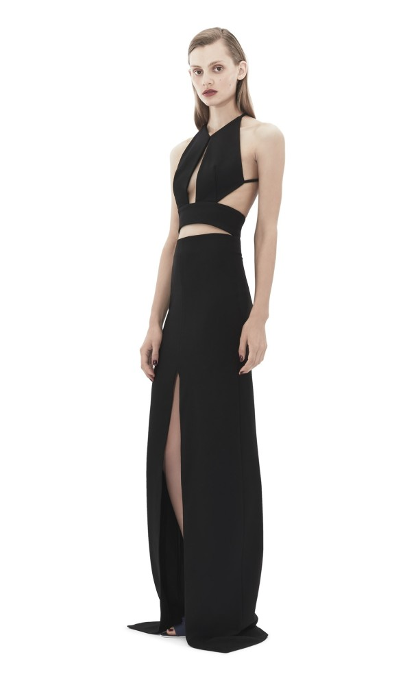 Ciara-The-Last-Witch-Hunter-New-York-Premiere-Solace-London-Black-Cut-Out-Ferrara-Dress