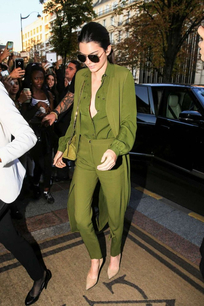Kendall-Jenner-in-Green-