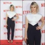 Taylor Schilling in Vionnet –   Netflix Spain Presentation