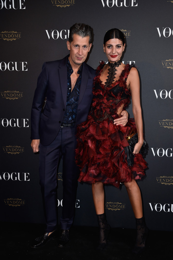 Vogue-95th-Anniversary-Party-Arrivals-Paris-giovanna-battaglia-stefano-tonchi