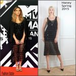 Ashley Benson In Haney  At The 2015 MTV EMA's