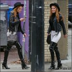 Bella Thorne  spotted in Vancouver, October 2015