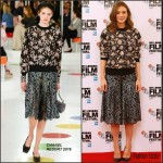 Carey Mulligan In Chanel – 'Suffragette' London Photocall