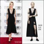 Cate Blanchett In Aouadi Couture At  'Carol' New York Film Festival Premiere