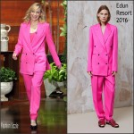 Cate Blanchett In Edun  At The Ellen DeGeneres Show