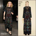 Cate Blanchett In Valentino – Out In New York City