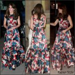 Catherine, Duchess of Cambridge In Erdem  At 100 Women In Hedge Funds Gala Dinner