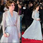 Catherine, Duchess of Cambridge In Jenny Packham At  'Spectre' London Premiere
