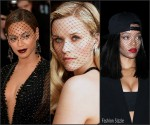 Celebrities in Face Veils