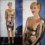 Charlize Theron In Tom Ford At  Captiol Grand Event