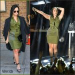 Demi Lovato  in  Altuzarra -Out in New York