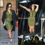 Demi Lovato  in  Altuzarra -Out in New York