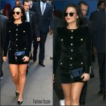 Demi Lovato  in Balmain   – Good Morning America New York