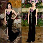 Dita Von Teese   in Alexis Mabille – Tiffany & Co. Celebration