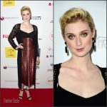 Elizabeth Debicki In Miu Miu  At the  4th Annual Australians In Film Awards Benefit Dinner and Gala