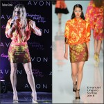 Fergie In Emanuel Ungaro At  Outspoken Party By Fergie Launch Party
