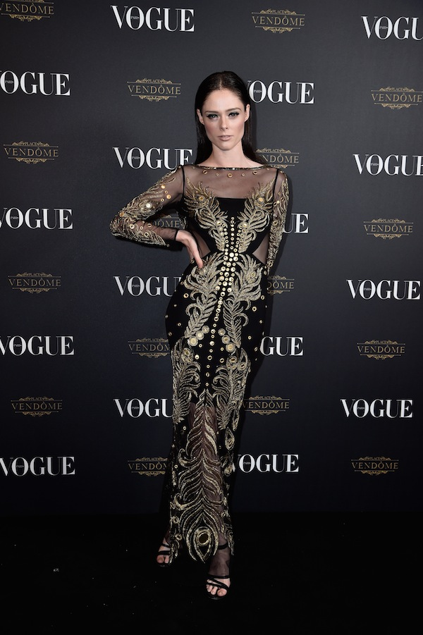Vogue -95th- Anniversary- Party Arrivals - Paris Fashion Week