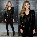 Gigi Hadid – BALMAIN X H&M Collection Launch in New York City
