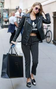 Gigi Hadid Shopping in New York City, October 2015