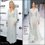 GWYNETH PALTROW  IN RALPH & RUSSO – AMFAR INSPIRATION GALA