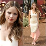 Halston Sage In Prabal Gurung  At  'Goosebumps' LA Premiere