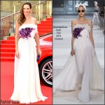 Hilary Swank In Giambattista Valli Couture  At Tokyo International Film Festival 2015 Opening Ceremony