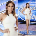 Jennifer Lopez In David Koma At 'American Idol' San Francisco Auditions