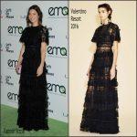 Jessica Biel In  Valentino –  2015 EMA Awards
