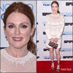 Julianne Moore In Valentino  At  'Freeheld' LA Screening