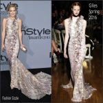 Kate Hudson In Giles  At  2015 InStyle Awards