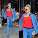 Kate Hudson  – Leaving Her Hotel in New York
