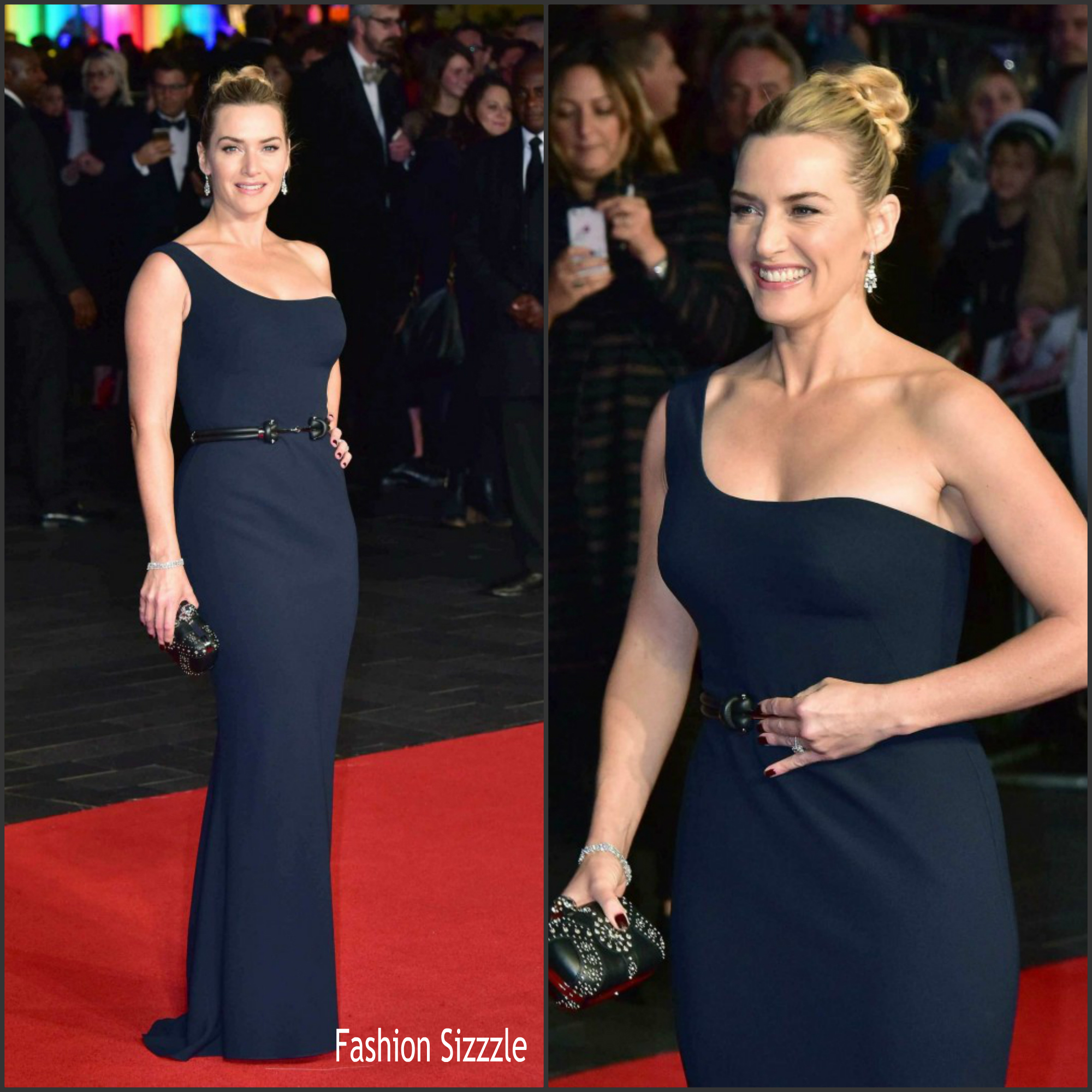 Kate Winslet In Alexander Mcqueen At Steve Jobs London Film Festival Closing Night Premiere