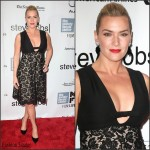 Kate Winslet In Valentino  At 'Steve Jobs' New York Film Festival Premiere