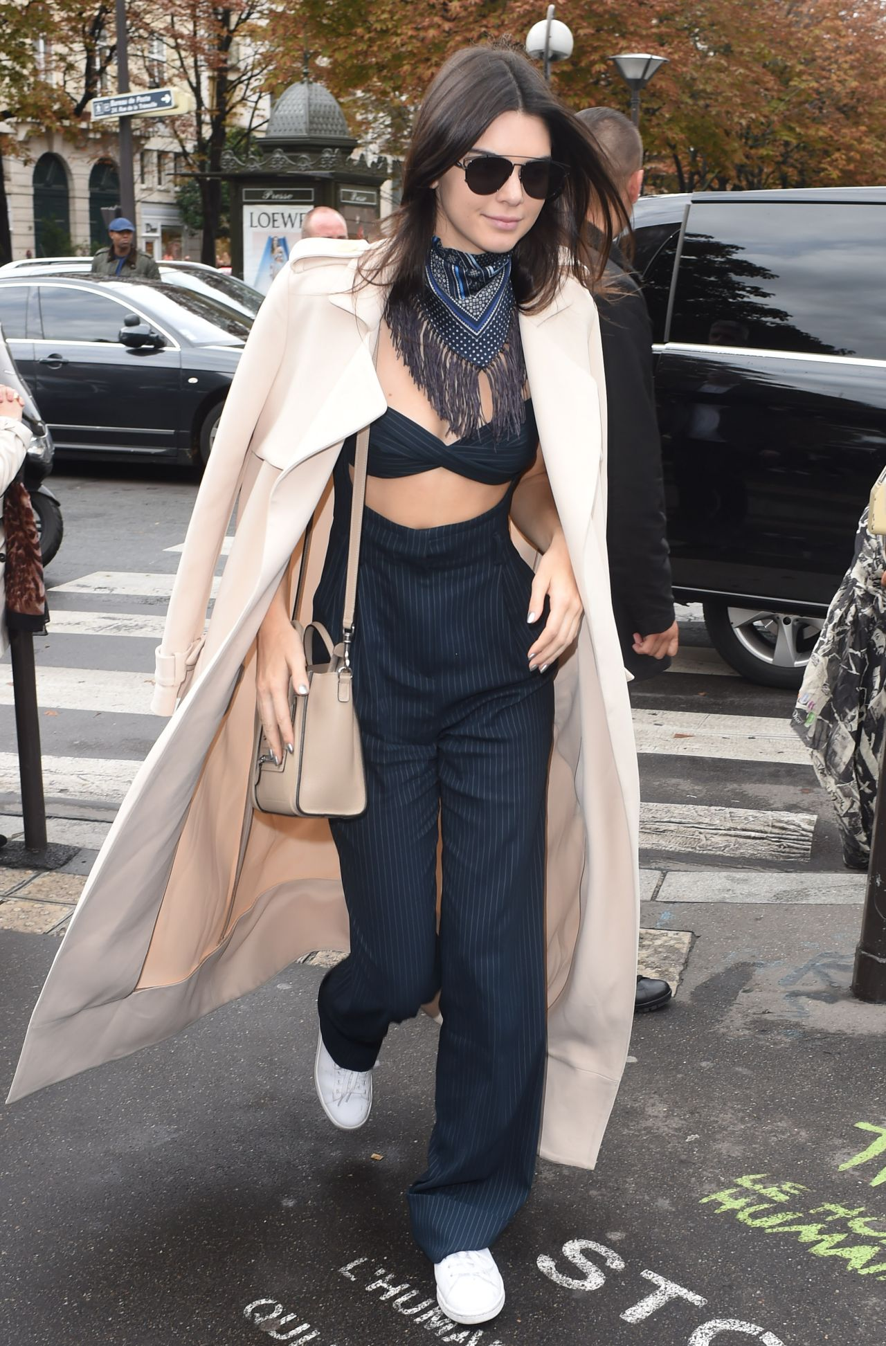 Kendall jenner style at fashion week fashionsizzle Fashion style october 2015