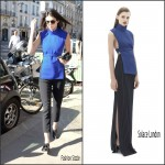Kendall Jenner  in Solace London leaving   her Hotel in Paris