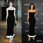 Kendall Jenner  in Ulyana Sergeenko -Vogue 95th Anniversary Party in Paris