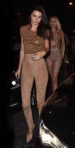 Kendall Jenner  in Balmain  – at Le Six Seven in Paris