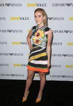 Kiernan Shipka In Mary Katrantzou  At Teen Vogue Young Hollywood Party