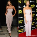 Kristen Wiig In Brandon Maxwell  At 'Nasty Baby' LA Premiere