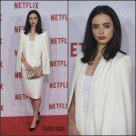 Krysten Ritter  in  Olcay Gulsen –  Netflix  Spain Presentation