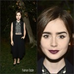 Lily Collins – A Night of Old Hollywood Glamour in Beverly Hills