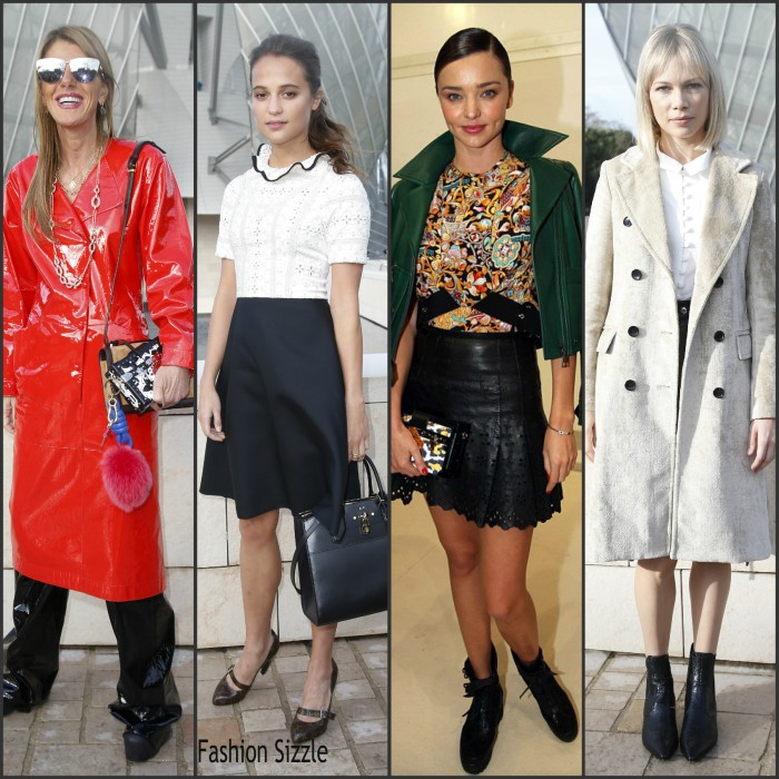 Louis Vuitton Spring 2016 Front Row