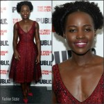 Lupita Nyong'o In Christian Dior At 'Eclipsed' Opening Night