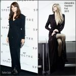 Monica Bellucci In Alexandre Vauthier  AT  'Spectre' Paris Premiere