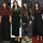Monica Bellucci In Azzedine Alaïa and Dolce & Gabbana  At 'Spectre' Rome & Madrid Photocalls & Premieres